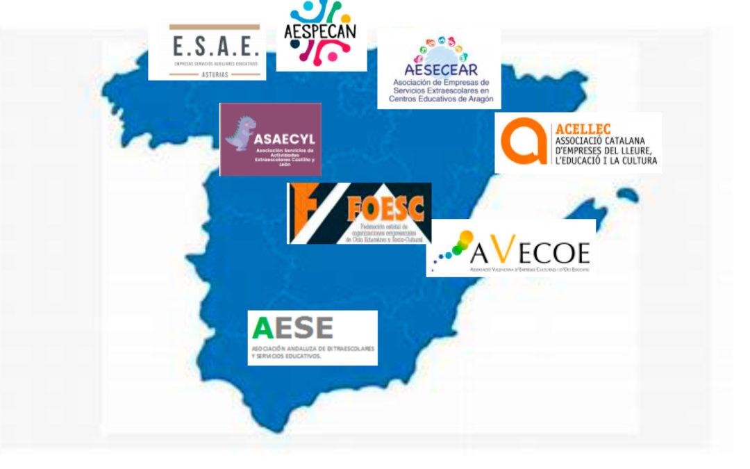 Las Asociación Andaluza de Extraescolares (AESE), se aúna al manifiesto conjunto contra la exclusión del Gobierno de España por dejarla sin ayudas.