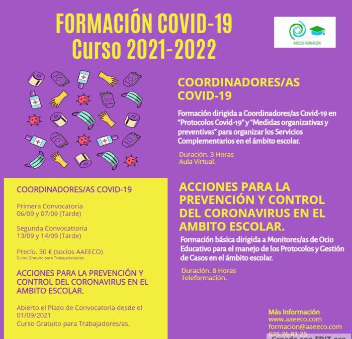 Formación COVID-19 para Coordinadores/as y Monitores/as